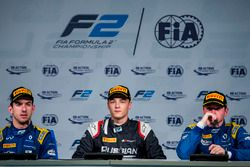 Press Conference: Nicholas Latifi, DAMS, Artem Markelov, RUSSIAN TIME, Oliver Rowland, DAMS