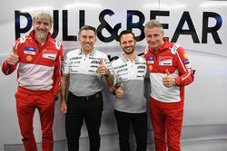 Gigi Dall'Igna, Ducati Team General Manager, Paolo Ciabatti, Ducati Corse Sporting Director, Jorge M