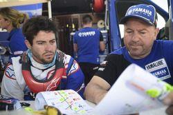 Franco Caimi, Jordi Arcarons, director deportivo de Yamalube Yamaha Official Rally Team