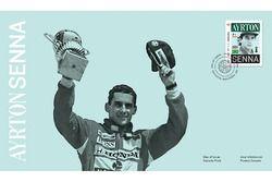 Sello de Correo de Ayrton Senna