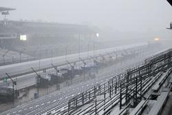 Eső és rossz idő az Indianapolis Motor Speedwayen