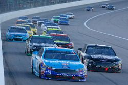 Aric Almirola, Richard Petty Motorsports Ford, Trevor Bayne, Roush Fenway Racing Ford