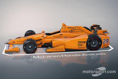 Fernando Alonso Indianapolis test