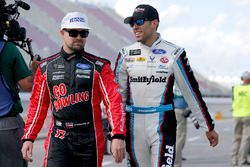 Aric Almirola, Richard Petty Motorsports Ford Ricky Stenhouse Jr., Roush Fenway Racing Ford