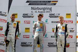 Podium: 1. Lirim Zendeli, Mücke Motorsport, 2. Kim-Luis Schramm, US Racing, 3. Fabio Scherer, US Racing