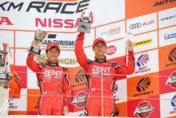 Podium GT500: third place #38 Team Zent Cerumo Lexus RC F: Yuji Tachikawa, Hiroaki Ishiura