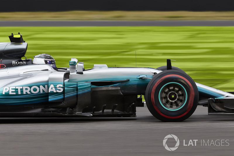 6: Valtteri Bottas, Mercedes AMG F1 W08 (inc. gridstraf van 5 plaatsen)