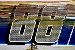 Dale Earnhardt Jr., Hendrick Motorsports Chevrolet after impacting the wall