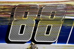 Detail: Unfallauto von Dale Earnhardt Jr., Hendrick Motorsports Chevrolet