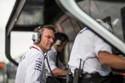 James Allison, technisch directeur Mercedes AMG F1