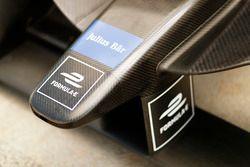 Formule E, Julius Bar logos en la nariz