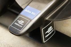 Formule E, Julius Bar logos on a nose cone