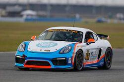 #46 Team TGM Porsche Cayman GT4: Ted Giovanis, Guy Cosmo, Hugh Plumb