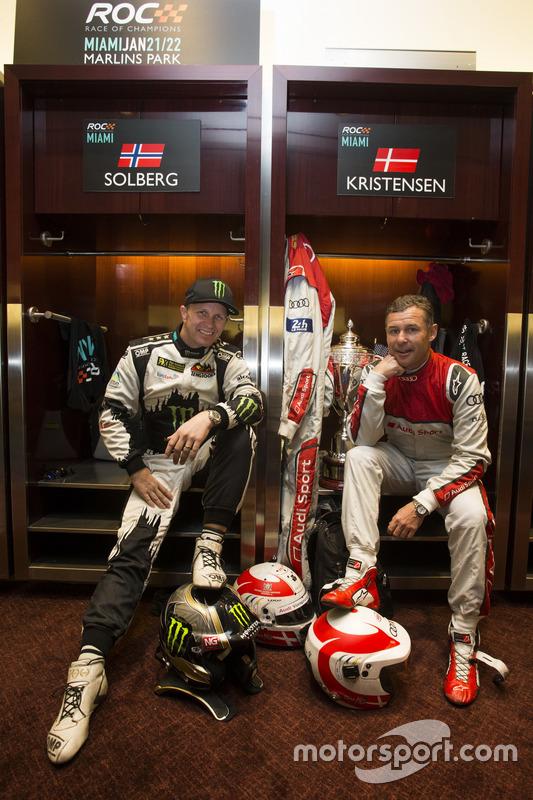 Petter Solberg y Tom Kristensen