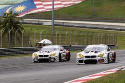 #91 FIST-Team AAI, BMW M6 GT3: Jun San Chen, Ollie Millroy, Philipp Eng; #90 FIST-Team AAI, BMW M6 GT3: Jesse Krohn, Akira Iida, Tom Blomqvist