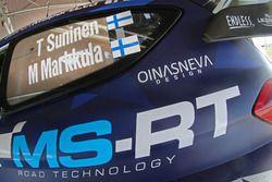 Car of Teemu Suninen, Mikko Markkula, M-Sport, Ford Fiesta WRC