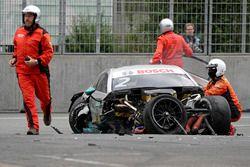 Gary Paffett, Mercedes-AMG Team HWA, Mercedes-AMG C63 DTM a baleset utáni pillanatokban