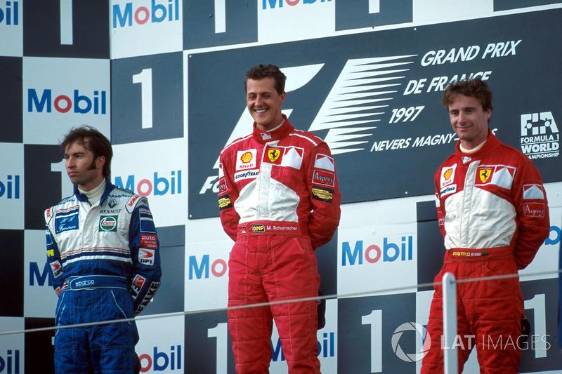 Michael Schumacher, GP da França (8x: 1994-1995, 1997-1998, 2001-2002, 2004)