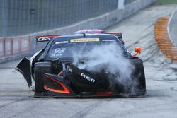 #93 RealTime Racing Acura NSX GT3: Peter Kox, accidente