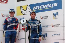 Podium: Diego Menchaca, Fortec Motorsports