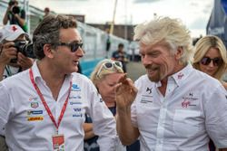 Alejandro Agag, Formula E CEO, Richard Branson
