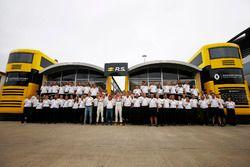 Sergey Sirotkin, Renault-Testfahrer, René Arnoux, Jolyon Palmer, Renault Sport F1 Team, Nico Hulkenb