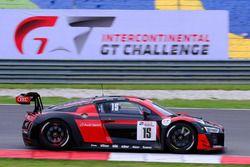 #15 Audi Sport Team Phoenix, Audi R8 LMS, Christopher Haase, Robin Frijns, Laurens Vanthoor