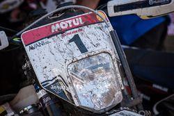 Graham Jarvis'in motosikleti
