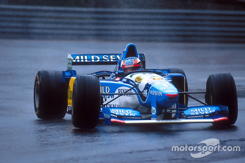 Benetton 1995: Michael Schumacher, Benetton B195