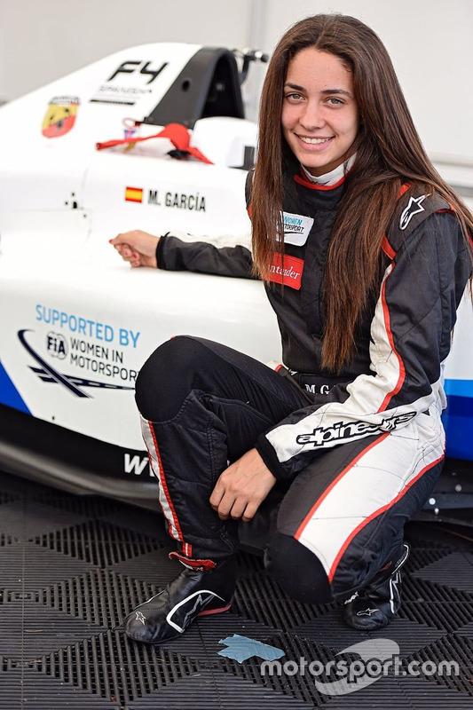 Marta Garcia, pembalap Formula 4