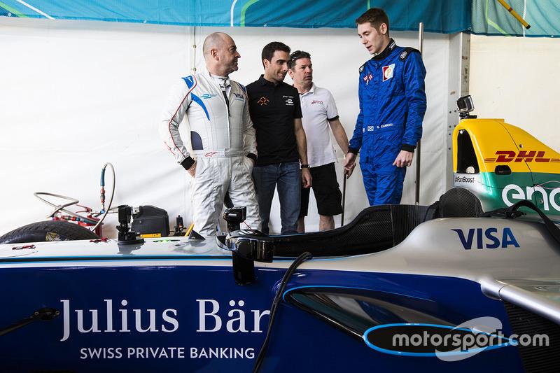 Michael Benyahia guida la SPARK SRT_01E con Graham Carroll