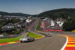 Romain Grosjean, Haas F1 Team, lors de la parade des pilotes