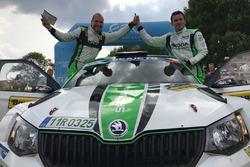 Pavel Dresler e Jan Kopecky, SKODA Motorsport