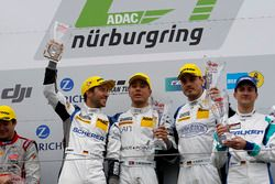 Podyum: 1. #5 Phoenix Racing, Audi R8 LMS: Mike Rockenfeller, Nicolay Møller Madsen, Dennis Busch