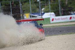 Federico Reggiani, Ghinzani Arco Motorsport, furoi pista