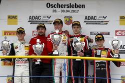 Podium: 1. Juri Vips, Prema Powerteam; 2. Nicklas Nielsen, US Racing; 3. Jonathan Aberdein, Motopark