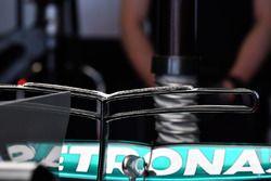 Mercedes AMG F1 F1 W08 rear wing detail