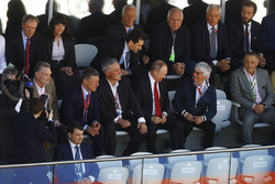 Dmitry Kozak, Viceprimer Ministro de Rusia, Chase Carey, Director Ejecutivo y Presidente Ejecutivo d