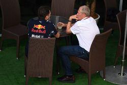 Christian Horner, Red Bull Racing Teambaas en Dr Helmut Marko, Red Bull Motorsport Consultant