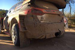 Mads Ostberg, Ford Fiesta Plus, OneBet JipoCar Team, vettura senza il diffusore