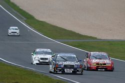 #222 Markus Wüstefeld, Klaus Ludwig, Mercedes 190 Klasse 1 DTM, #14 Stephan Rupp, Christian Danner, Alfa Romeo 155 TI V6 ITC