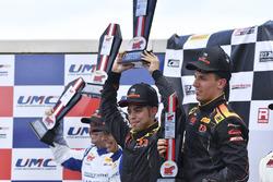Podyum: Yarış galibi Daniel Mancinelli, Niccolo Schiro, TR3 Racing