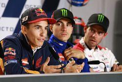 Marc Marquez, Repsol Honda Team, Maverick Viñales, Yamaha Factory Racing, Cal Crutchlow, Team LCR Honda