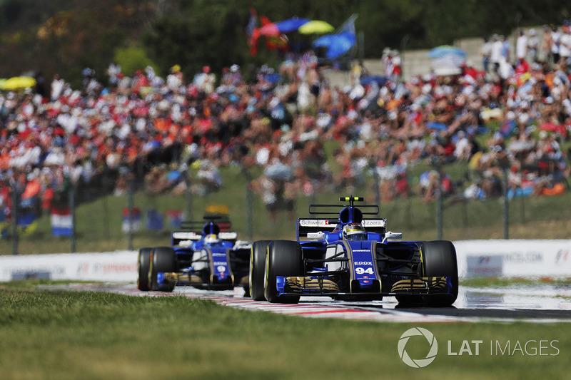 Паскаль Верляйн, Sauber C36-Ferrari, Маркус Ерікссон, Sauber C36