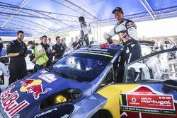 Ganadores Sébastien Ogier, Julien Ingrassia, Ford Fiesta WRC, M-Sport