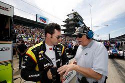 Simon Pagenaud, Team Penske Chevrolet, Robin Miller