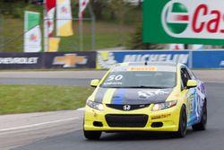 #50 Lapse Motorsport Honda Civic Si: Eric Laporte
