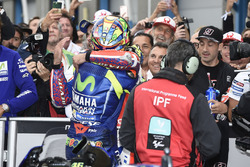 Race winner Valentino Rossi, Yamaha Factory Racing, Danilo Petrucci, Pramac Racing