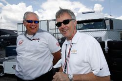 Art St. Cyr, President of Honda Performance Development and Paul Ray of Ilmor