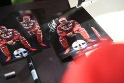 Sebastian Vettel, Ferrari autograph